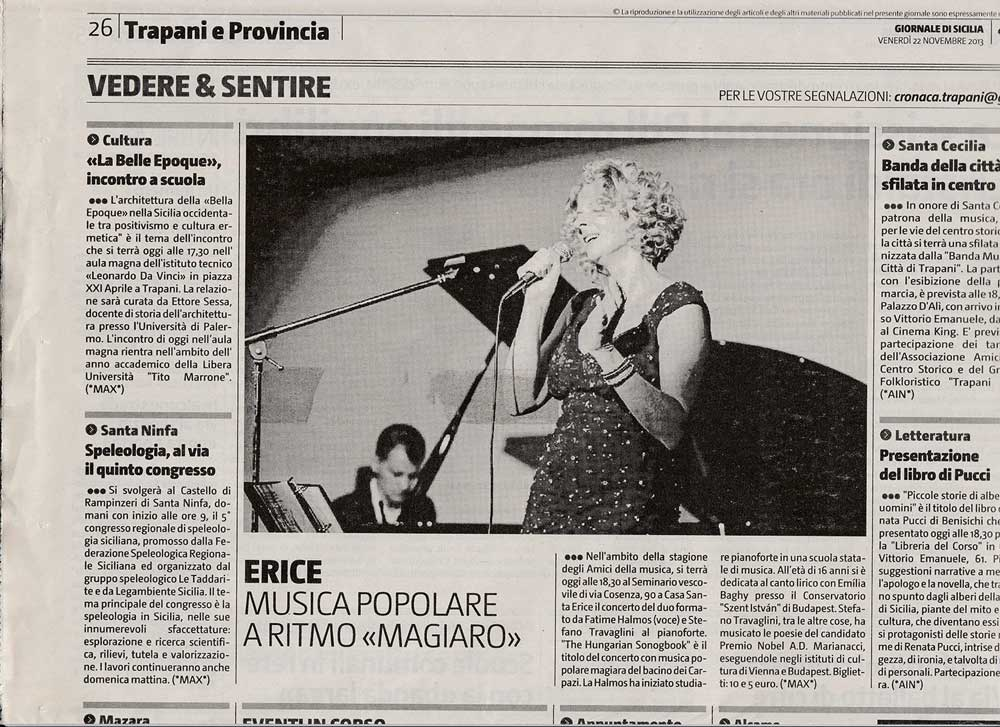 The Hungarian Songbook - Giornale di Sicilia